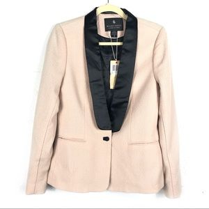 Maison Scotch Tuxedo Jacket Blazer Satin Collar